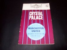 Crystal Palace v Manchester United, 1969/70